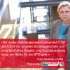 """Hilde Mattheis sagt """"Nein"""" zu TTIP und CETA."""