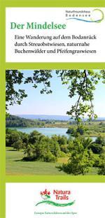 Flyer-Cover Natura Trail Mindelsee