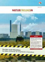 Cover der NATURFREUNDiN 1-12