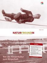 Cover der NATURFREUNDiN 2-08