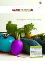 Cover der NATURFREUNDiN 3-11