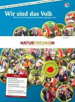 Cover der NATURFREUNDiN 4-10
