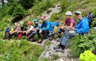 Alpinklettern 2019 Rainlähne Karwendel
