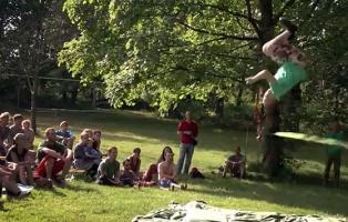 Tricklinecontest der Naturfreundejugend NRW